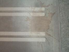 Handtuft Rotweinfleck