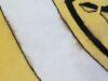 Handtuft Design mit Verfärbungen